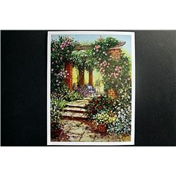 "Fine Art Print ""Floral Arbour"" by Richard Telford"