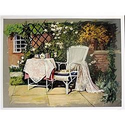 "Fine Art Print ""Patio II"" by Avril Morris"