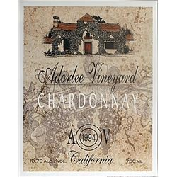 "Fine Art Print ""Adorlee Vineyard"" by Ralph Burch"