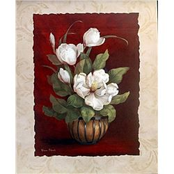 "Fine Art Print ""More Magnolias I"" by Vivian Flasch"