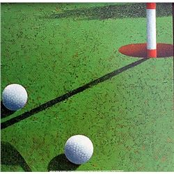 "Fine Art Print ""Golf""by Bill Romero"