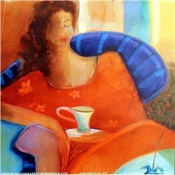 "Fine Art Print ""Sunday Morning Tea"" by Lee White"