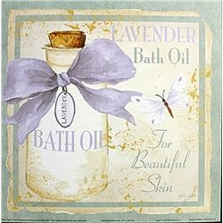 "Fine Art Print ""Lavender Bath Oil"" by Kathey Hatch"