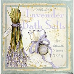 "Fine Art Print ""Lavender Bath Salts"" by Kathey Hatch"
