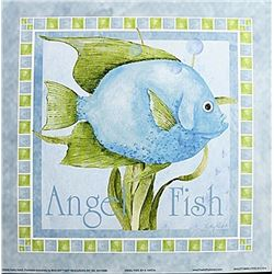 "Fine Art Print ""Angel Fish"" by Kathey Hatch"
