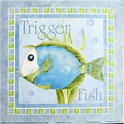 "Fine Art Print ""Tigger Fish"" by Kathey Hatch"