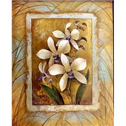 "Fine Art Print ""Illuminated Orchid I"" by Elaine Vollherbst"