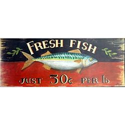 "Fine Art Print ""Fresh Fish"" by M. Gordon"
