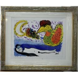 Signed Oil Marc Chagall