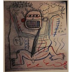 Jean Michel-Basquiat- Untitled