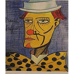 Bernard Buffet - The Clown V