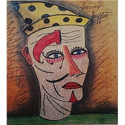 Bernard Buffet - The Clown