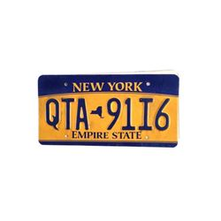 Amityville The Awakening Family Car License Plate Movie Props