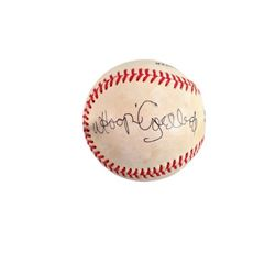 Whoopi Goldberg Signed Baseball