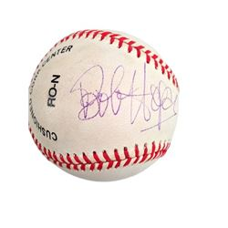 Bob Hope Signed Baseball