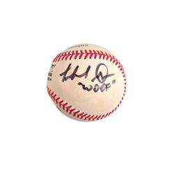 Michael Dorn Signed Baseball