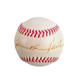 Jonathan Winters Signed Baseball
