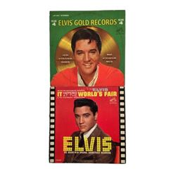 Elvis Presley Lot of Two 1960s Soundtrack Record Albums It Happened at The World's Fair and Elvis Go
