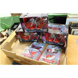 Lot of Dragon Figures With Pixar's Planes Toys