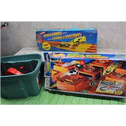 Lot Of Hot Wheels Tracks (3)(Two With Boxes)