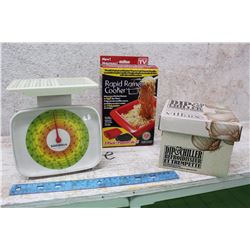 Lot of Meat Scale, Ramen Cooker, Dip and Chiller
