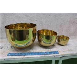 Gold Metal Bowls