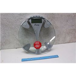 Glass Platform Electronic Scale