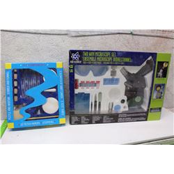 Science And Lab Equipment (Microscope & Test Tube Kits)