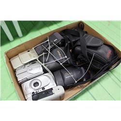 Lot of Assorted Film Cameras (9)