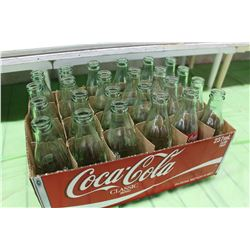 Lot of Coke Bottles (24)