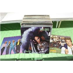 Box of Records (Huey Lewis & the News, Platinum Blonde Diana Ross Etc;)