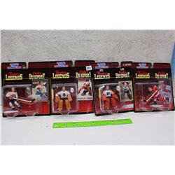 Starting Line Up Timeless Legends Hockey Figures (Gordie Howe, Bernie Parent, Tony Esposito, Jean Be