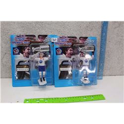 Pair of Starting Line Up Special Edition Wayne Gretzky Hockey Figures