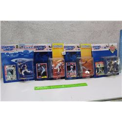 Starting Line Up Baseball Figures (Tim Salmon, Geronimo Berroa, Kevin Appier, Hideo Nomo)