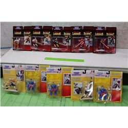 Starting Line Up  Hockey Figures (10)(Tony Esposito, Mike Richtur, Etc;)