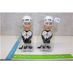 Pair of Jordan Tootoo Bobble Heads (2)(With Boxes)