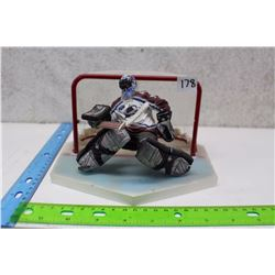Patrick Roy Figure With Net And Platform