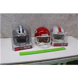 NFL Mini Helmets (3)