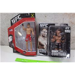 "UFC Figures (Nate Diaz, Randy ""The Natural"" Coutoure)"