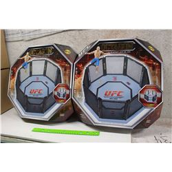 Pair of UFC Octagon Playsets