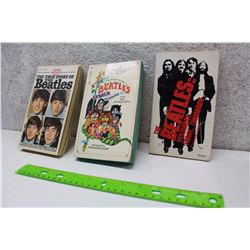 Lot of Beatles Books (3)(The True Story of The Beatles, The Beatles Lyrics Illustrated, The Beatles