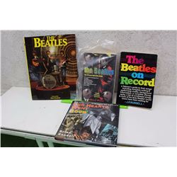 Lot of Beatles Books (4)(The Beatles, The Beatles The Ultimate Recording Guide, The Beatles On Recor