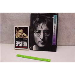 Lot of Beatles Books (2)(Brian Epstein The Man Who Made The Beatles, John Lennon His Life And Legend