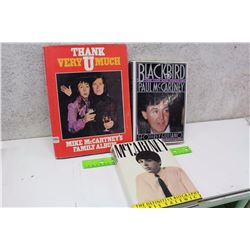 Lot of Paul McCartney Books (3)(McCartney, The Definitive Biography, Thank U Very Much, Blackbird)