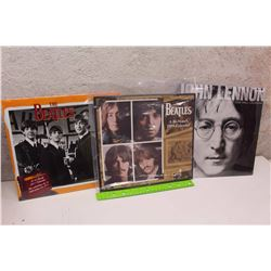 Lot of Beatles Calendars (3)