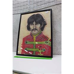 George Harrison Framed Artwork