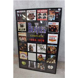 "The Beatles Framed Complete Works Poster (22.5"" x 34"")"