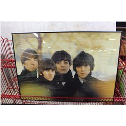 "The Beatles, Custom Framed Poster, 24"" x 34"""