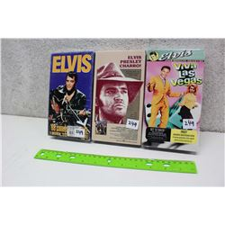 Lot of Elvis Presley VHS tapes