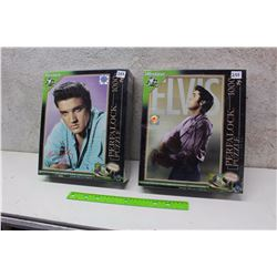 Pair of 1000 Piece Perealock Elvis Puzzles